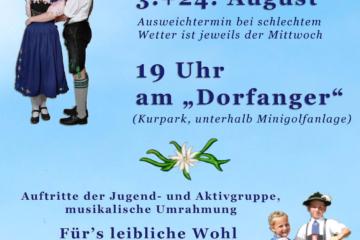 Dorfanger-Fest