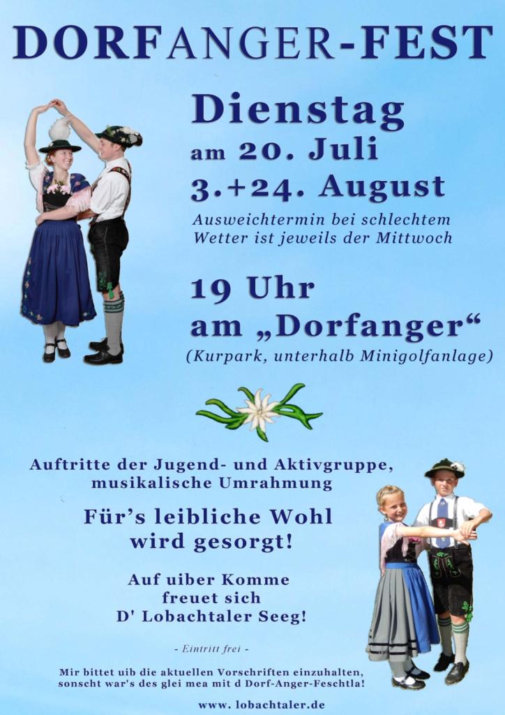 Dorfanger - Fest